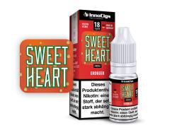 10ml Sweetheart Fertigliquid von Innocigs mit Erdbeergeschmack in den Stärken 0mg, 3mg, 6mg, 9mg, 18mg