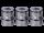 Vapefly - Kriemhild Single Mesh - 0,2 Ohm - Verdampferkopf (3 Stück pro Packung)