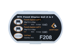 GeekVape - MTL Fused Clapton - Coil Set (2 in 1)
