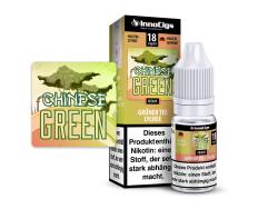 10 ml Fertigliquid Chinese Green von InnoCigs mit dem Geschmack von Grüner Tee-Lychee in den Nikotin Stärken 0mg, 3mg, 6mg, 9mg, 18mg