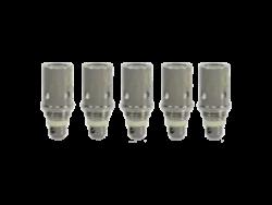 Verdampferkopf / Head BVC von Aspire wahlweise mit einem Widerstand von 1,6 Ohm oder 1,8 Ohm im 5er Pack