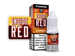 10ml Inside Red Fertigliquid von InnoCigs mit Wassermelonengeschmack in den Stärken 0mg, 3mg, 6mg, 9mg, 18mg