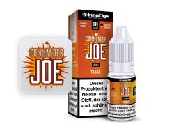 10ml Commander Joe Liquid von InnoCigs mit Tabakgeschmack in den Stärken 0mg, 3mg, 6mg, 9mg, 18mg