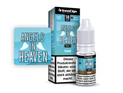 10ml Angels in Heaven Fertigliquid von Innocigs mit Tabakgeschmack in den Stärken 0mg, 3mg, 6mg, 9mg, 18mg